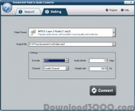 ThunderSoft Flash to Audio Converter screenshot